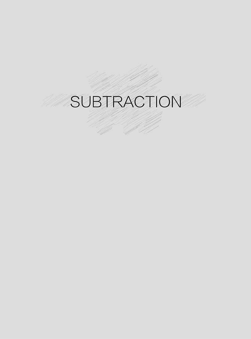 林羽龙:减 Lin Yulong: Subtraction