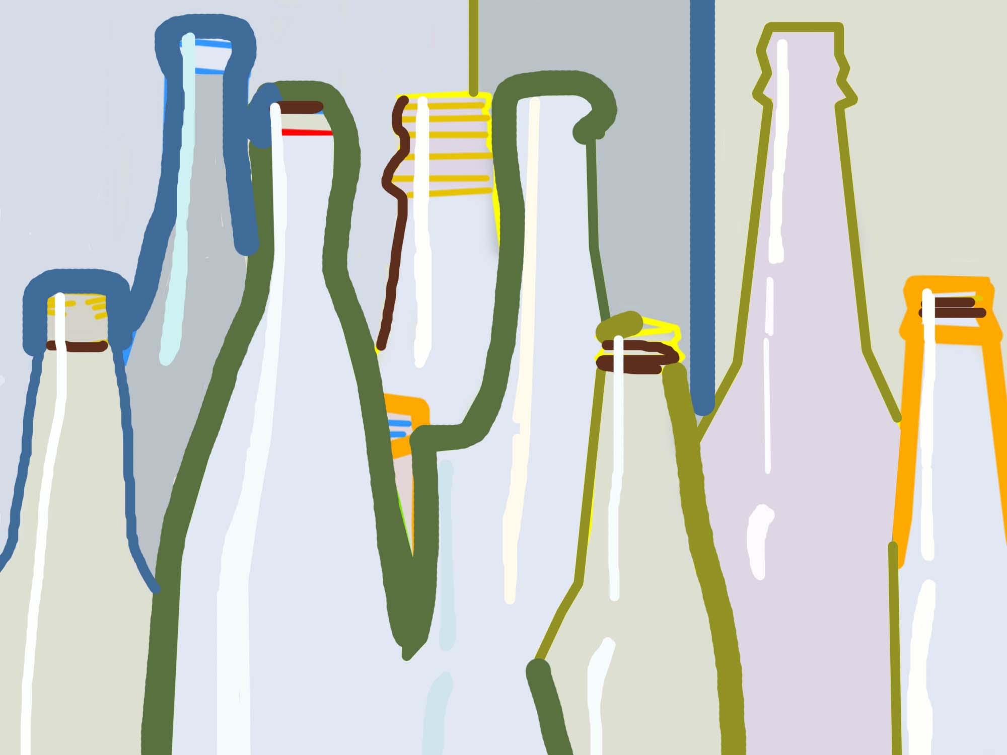 Gao Runsheng:Bottles