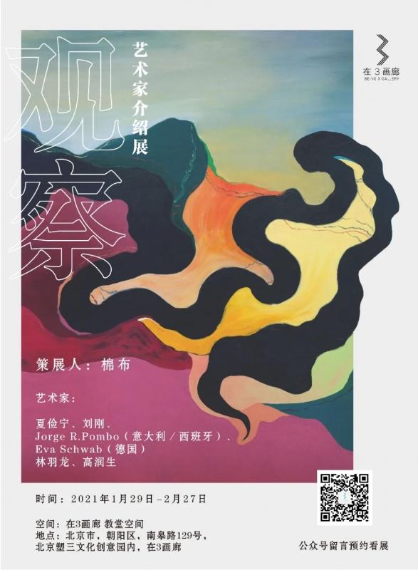 观察——艺术家介绍展 Observation - artist introduction Exhibition