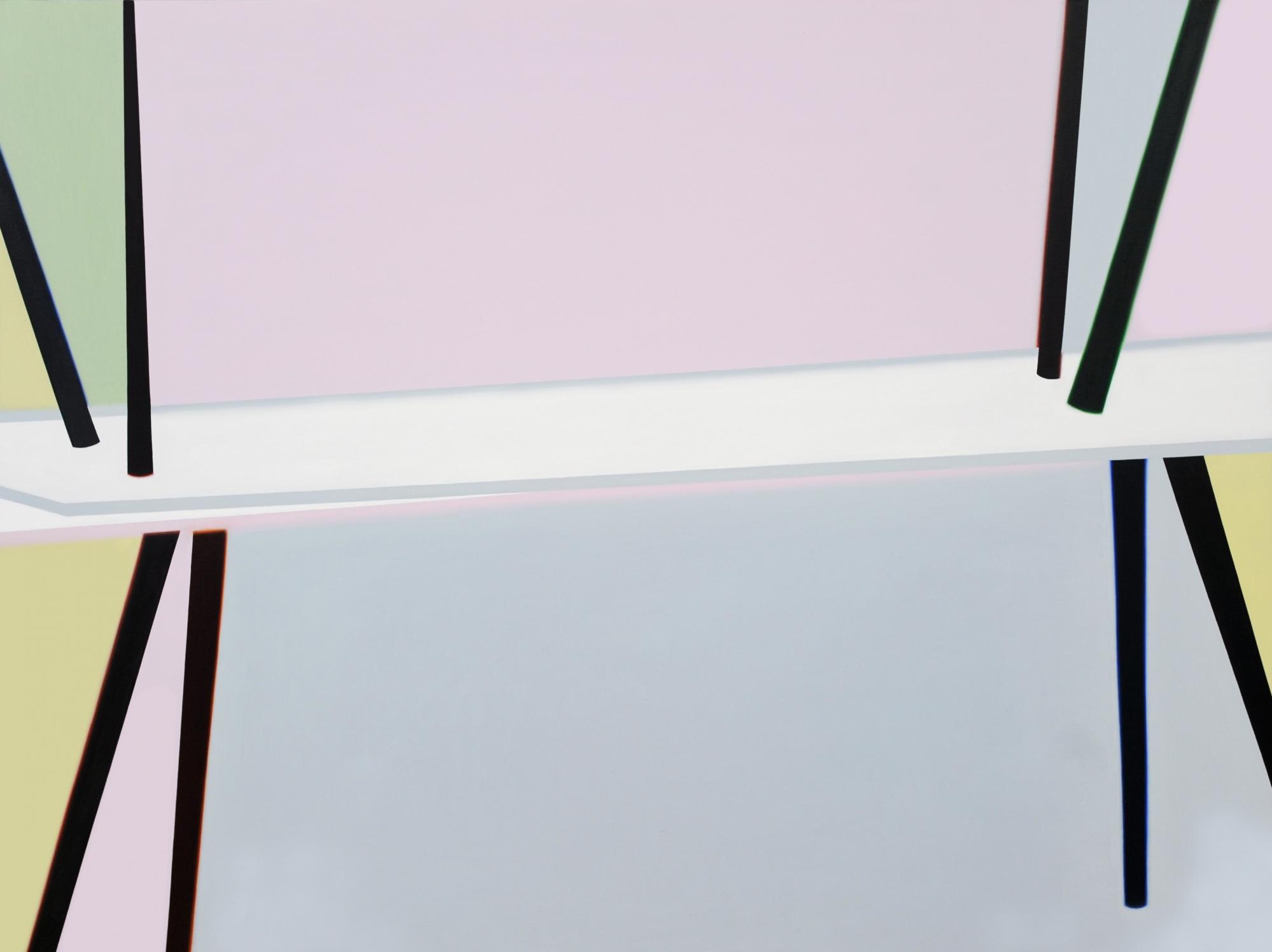 Tables 200x150cm oil and acrylic on canvas 2019