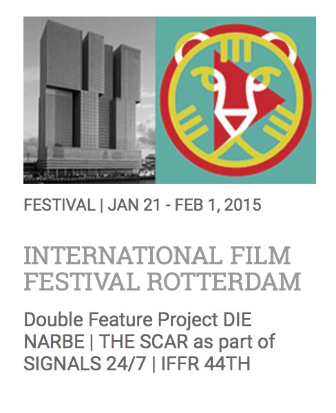 鹿特丹电影节 International Film Festival Rotterdam-Double Feature Project DIE NARBE | THE SCAR as part of SIGNALS 24/7